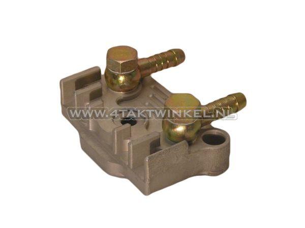 Oliekoeler-aansluitplaat-CNC