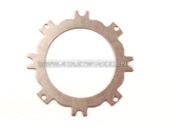 Koppelingsplaat-staal-C50,-Dax,-SS50,-CD50,-boven,-origineel-Honda