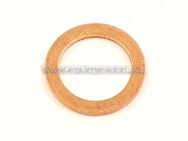 Ring-14mm,-koper-distibutie-spanner-plug