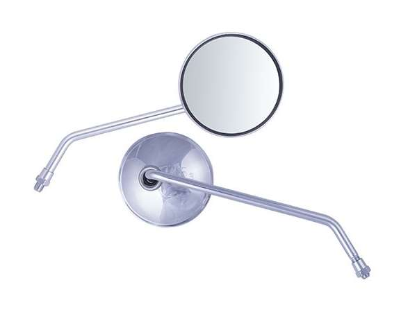 Spiegel-set,-universeel,-m10-draad,-rond,-chroom