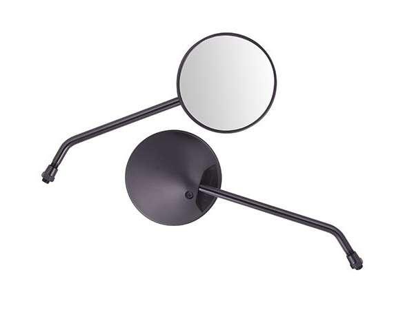 Spiegel-set,-universeel,-m10-draad,-rond,-zwart