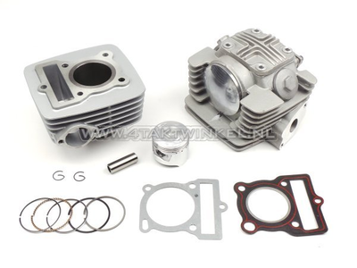 Cilinderset, met zuiger & pakking & cilinderkop 70cc, Mash, Orion, Zhenhua